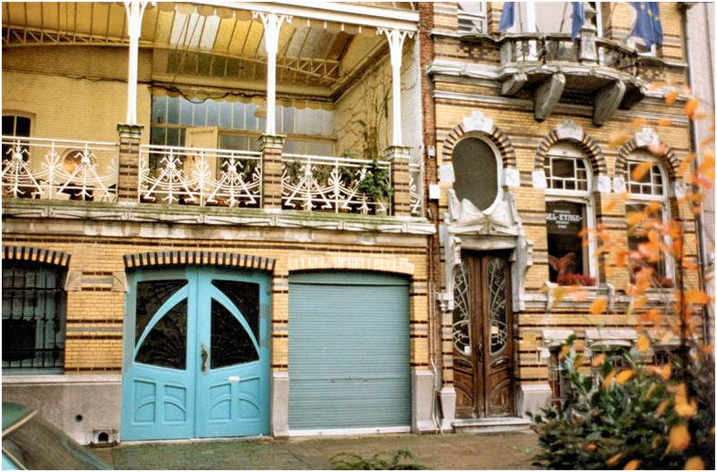 Art nouveau antwerp - Deco huizen ...