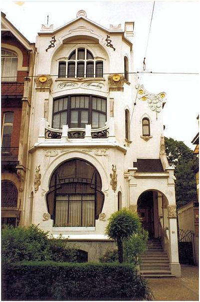 Art nouveau antwerp - Deco buitenkant huis ...